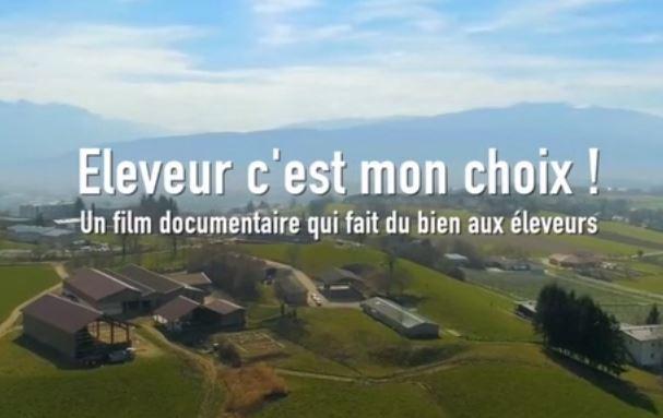 """""""Éleveur, c'est mon choix"""" : Un documentaire qui fait du bien aux éleveurs"""