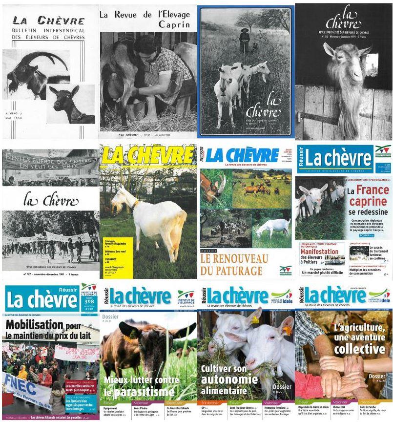 Pour les 60 ans de La Chèvre, retrouvez la une de votre mois de naissance !