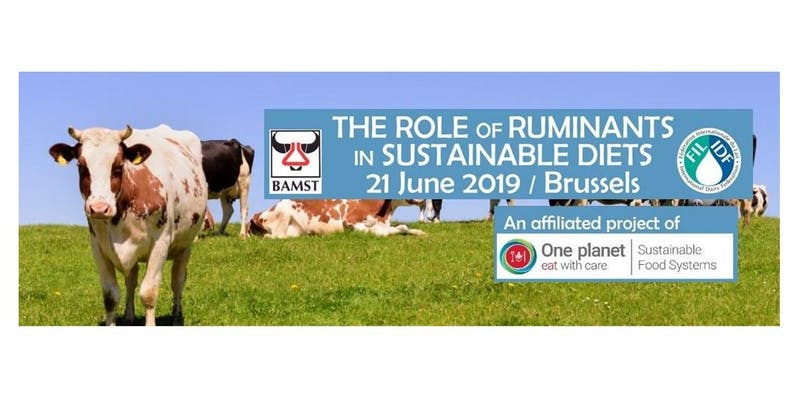 Symposium sur le rôle des ruminants dans une alimentation durable le 21 juin 2019 à Bruxelles