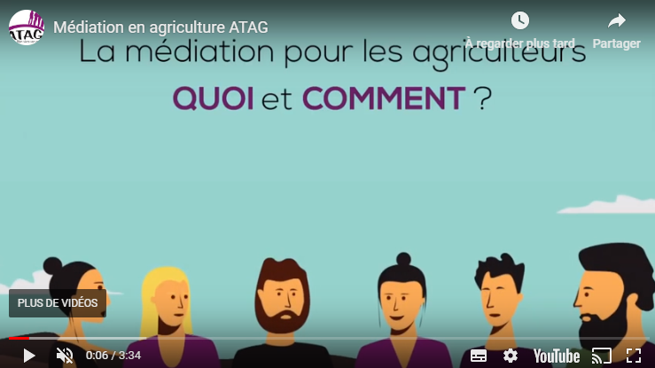 La médiation se développe dans le secteur agricole
