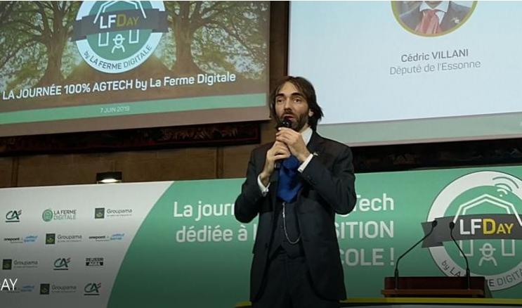 Cédric Villani craint un accaparement de la data agricole par les Gafa