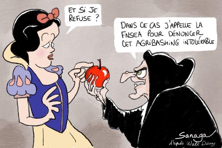 Sanaga d'après Walt Disney