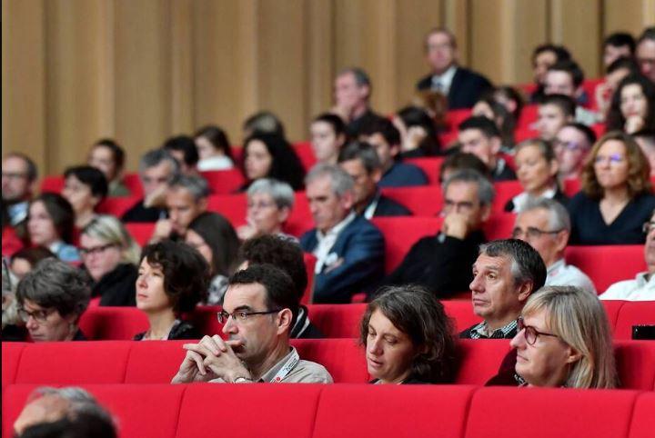 Deuxième jour des Assises de l'agriculture et de l'alimentation. | JOEL LE GALLE / OUEST-FRANCE