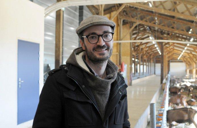 Pierre Ulrich est le directeur de la Ferme expérimentale du Pradel. - Photo : Nicolas Lemonnier