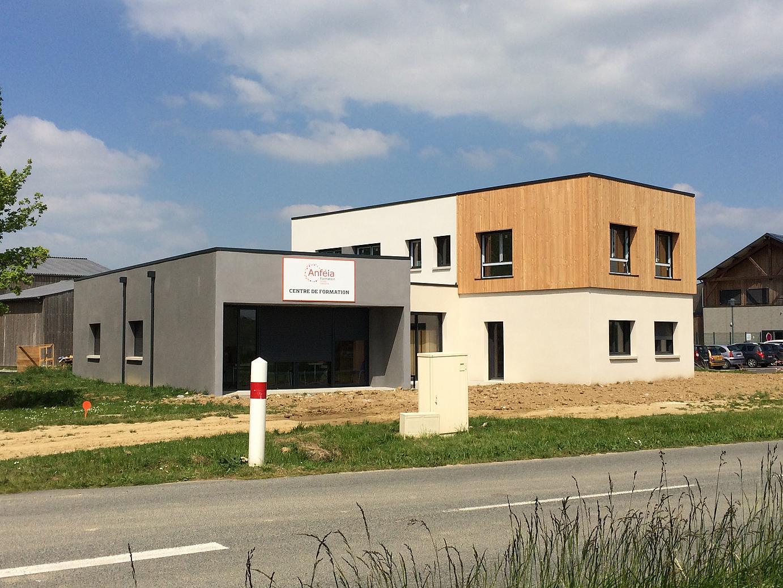 Le nouveau centre de formation de l'Anféia a inauguré ses locaux fraîchement construits, vendredi 12 mai 2017