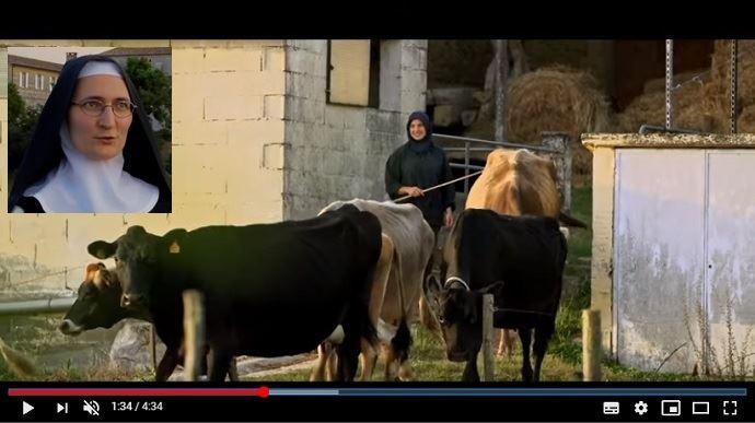 Les soeurs de l'abbaye de Boulaur veulent développer leur exploitation agricole et leur élevage ainsi que leur atelier de transformation de lait, de viande, de légumes et de fruits. (©Abbaye de Boulaur)